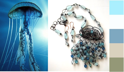 medusa jellyfish facebook laurastaley.etsy.com or creativejewelrydesignsbylaurastaley on facebook