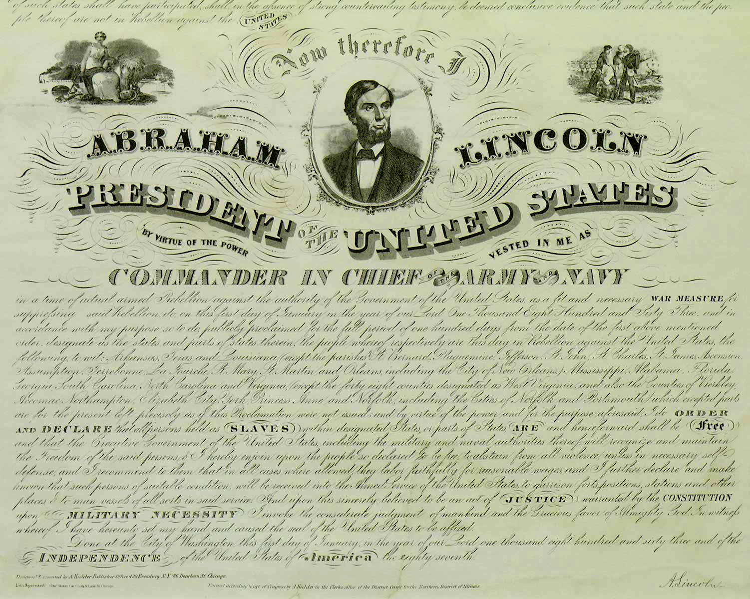 president lincoln and the emancipation proclamation essay Emancipation: american civil war and emancipation proclamation essay emancipation analysis the emancipation proclamation was an executive order issued by president abraham lincoln on january 1, 1863, as a war measure during the american civil war, to all segments of the executive branch (including the army and navy) of the united.