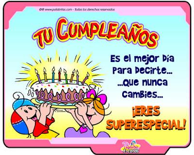 Tu cumpleaños es el mejor día