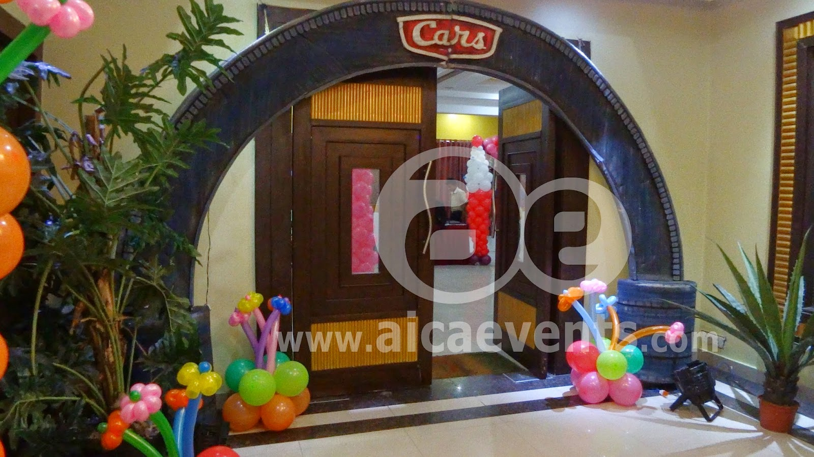 Disney Theme Decorations Aicaevents Disney Cars Theme Birthday Party