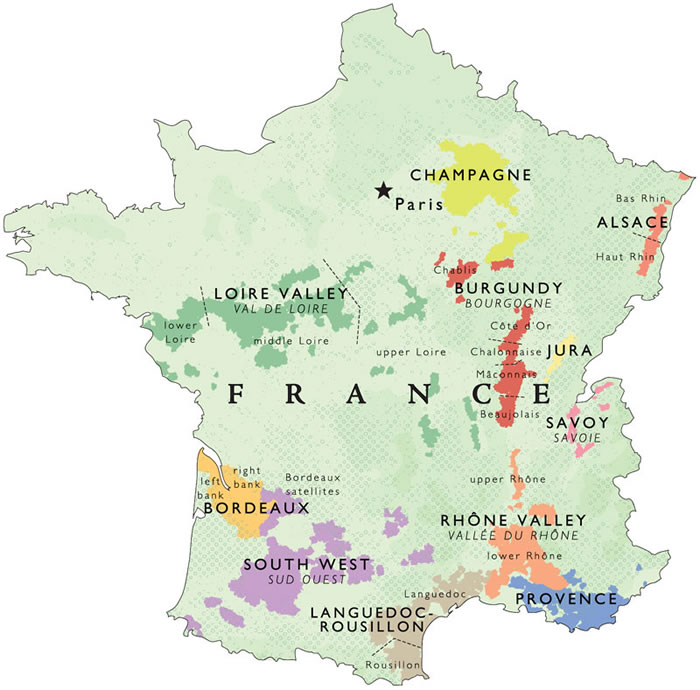 Kellys Wine Blog Wine Region Report Burgundy