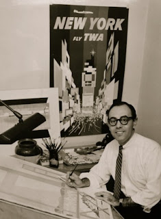 David Klein in his studio c. 1957