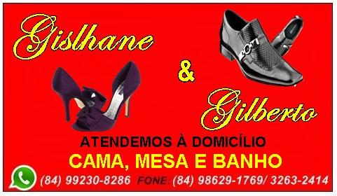 GISLHANE E GILBERTO CALÇADOS