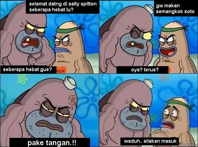 Kumpulan Komik Lucu Spongebob Squarepants