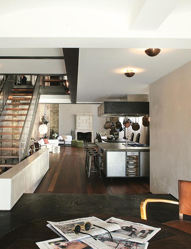 decor me casas de famosos la vivienda retro de marcus nispel. Black Bedroom Furniture Sets. Home Design Ideas