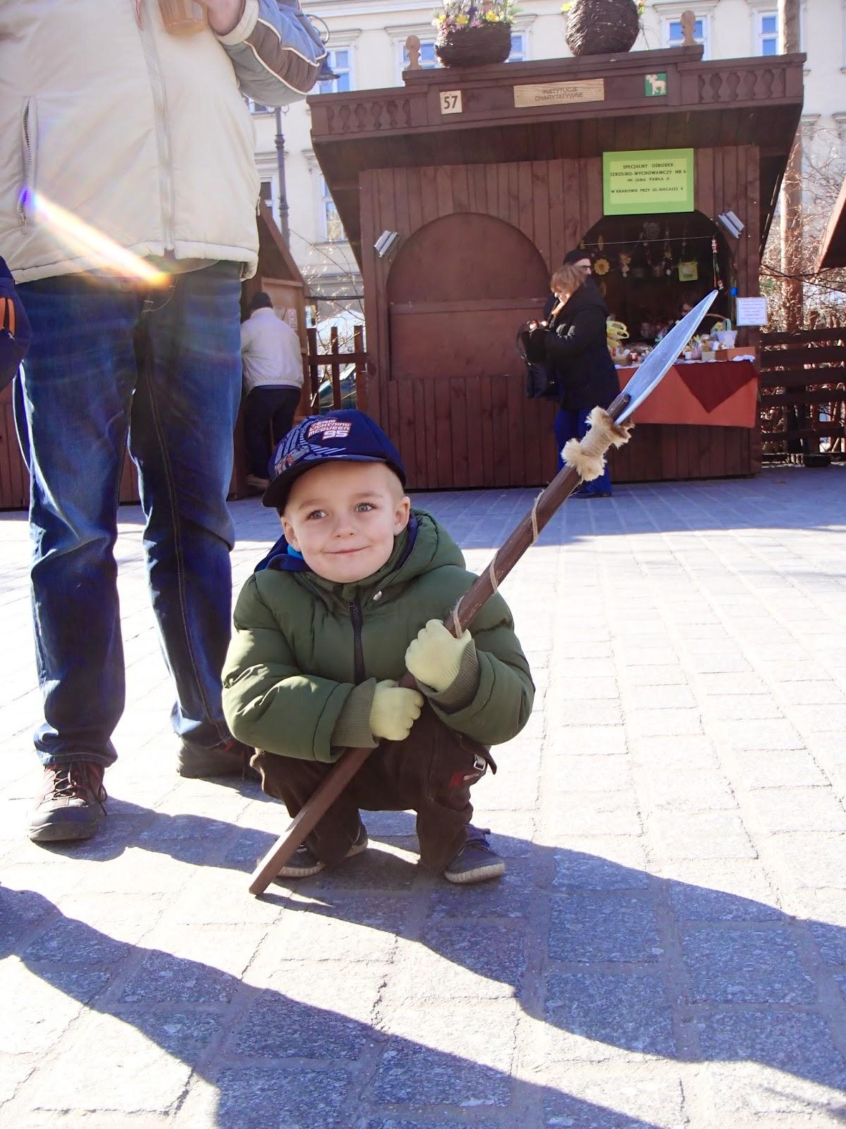 krakowski rynek, kiermasz świąteczny