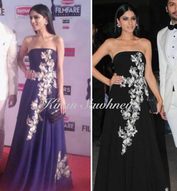 Sapna Pabbi at Filmfare 2015