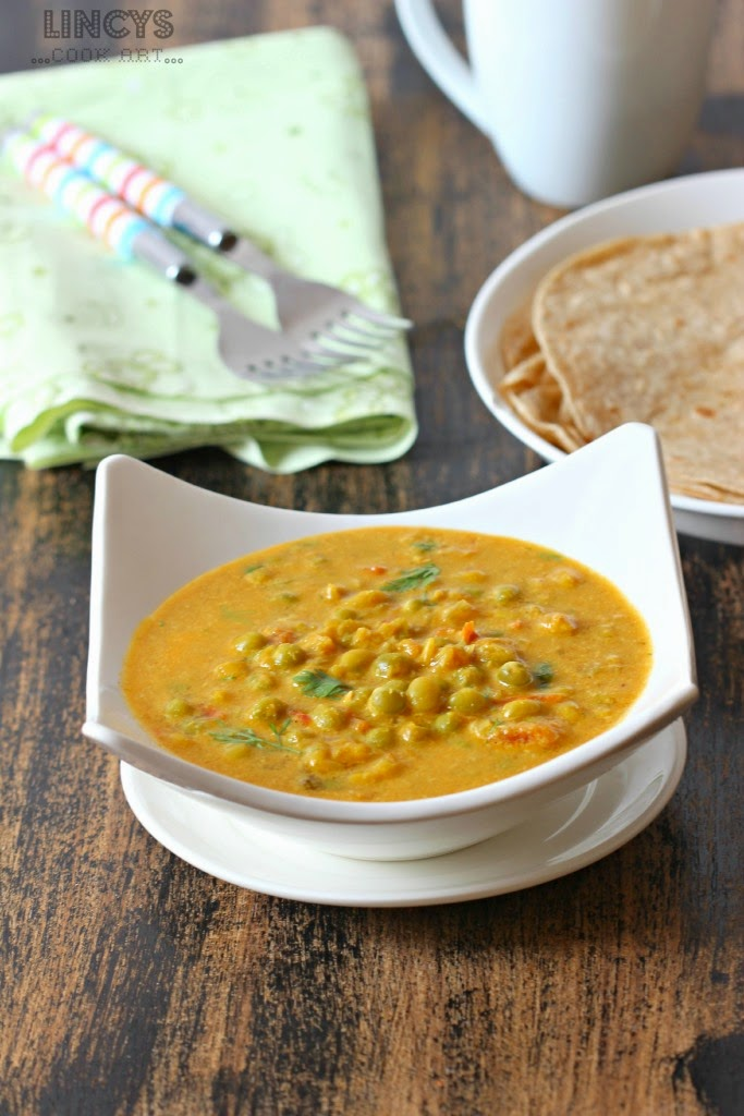 Dry Peas Curry