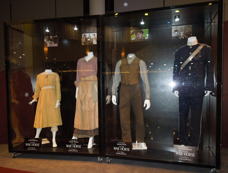 War Horse movie costume display