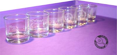 Regalos personalizados para bodas copas y vasos de for Vasos chupito personalizados