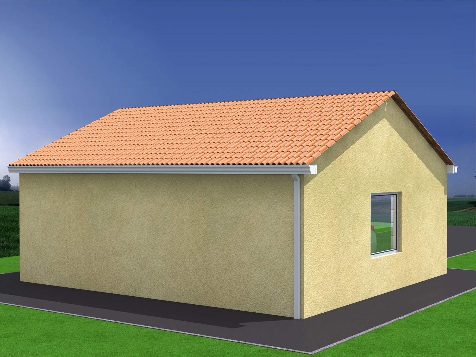 Conception construction de projets ext rieurs for Construction garage double