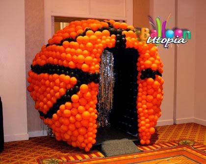 Create A March Madness Party Table By Using A Lot Of Orange Colors To Stick  With The Basketball Theme. Using Food Sold At Sporting Events Works As Well.