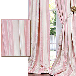 Pink And Cream Striped Curtains Black and Gold Striped Curtains