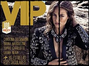Paola Oliveira Nua Na Revista Vip