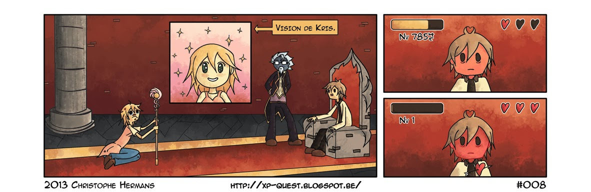 XP Quest  RPG  webcomic  strip  BD  Bande dessinée
