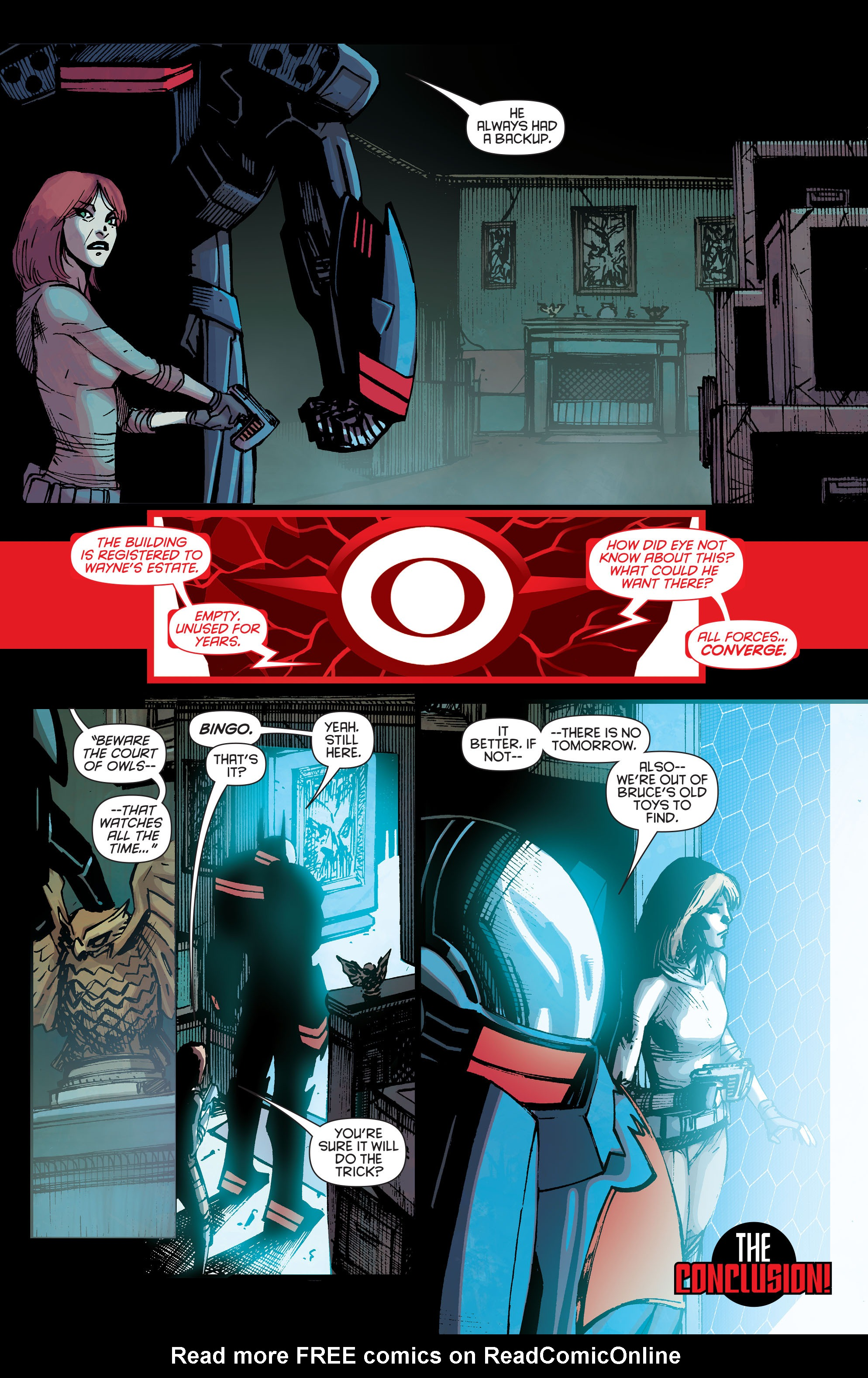 Batman Beyond (2015) Issue #5 #5 - English 23