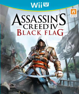 Official box art for Assassin's Creed 4: Black Flag for the Wii U