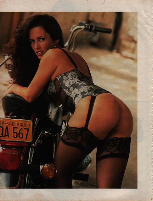 Nubia de Oliveira na Playboy