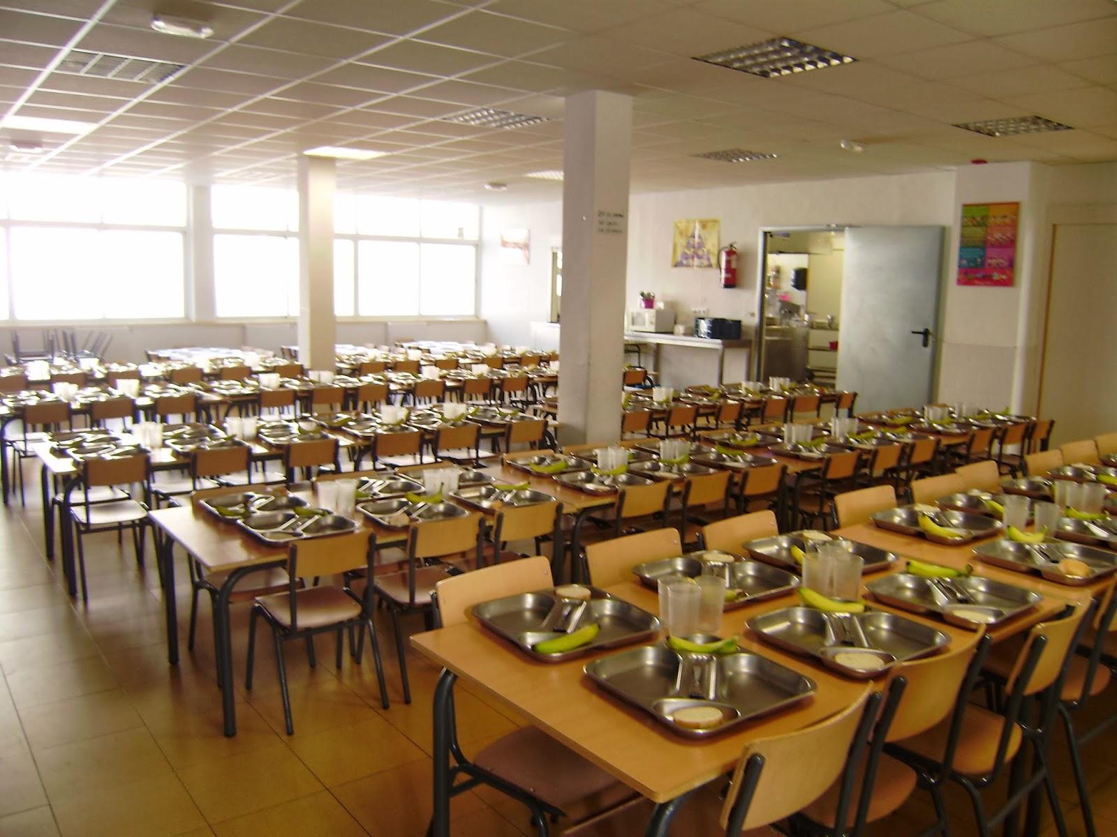 Real armada comedor escolar for Mesas comedor escolar