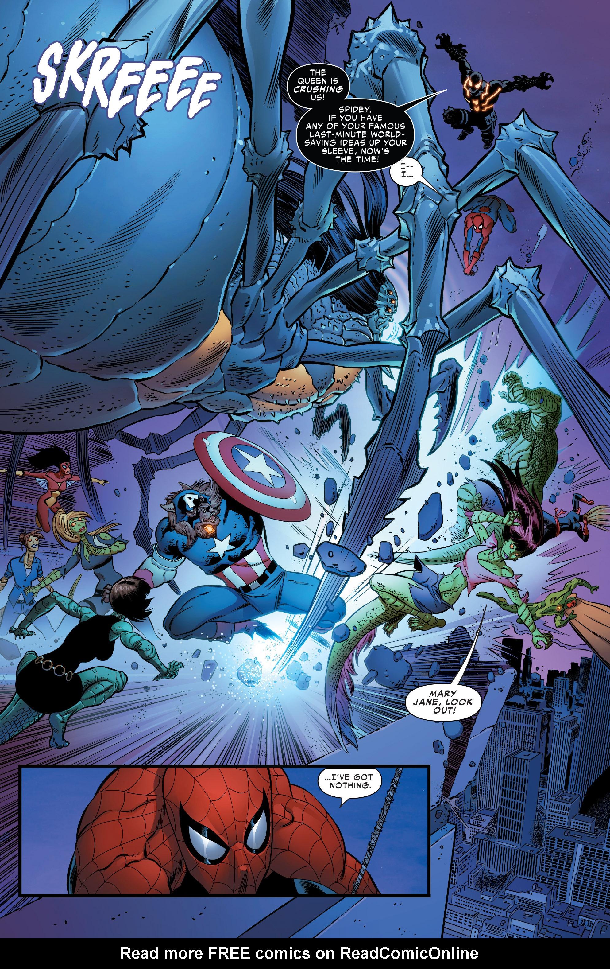 Spider Man Spider Island Read Online