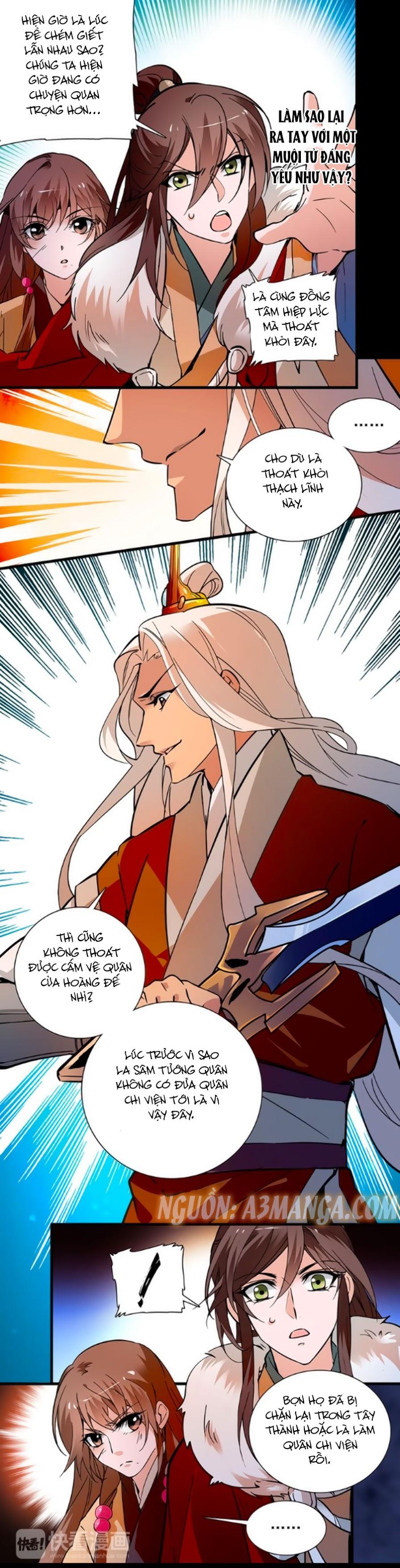 Hoàng Thượng! Hãy Sủng Ái Ta Đi! Chap 49