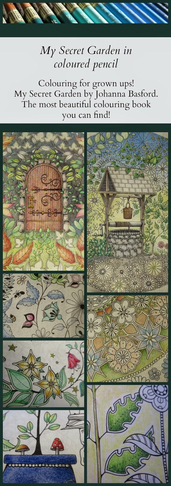My Secret Garden Colouring Book Part 3