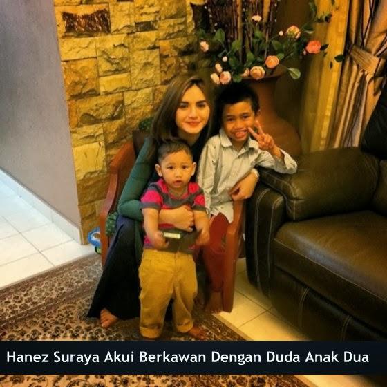 Hanez Suraya Akui Berkawan Dengan Duda Anak Dua