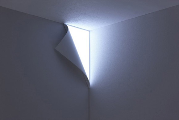 Peel Wall Light Yoy : Peel Wall Lamp by YOY The Collective Loop