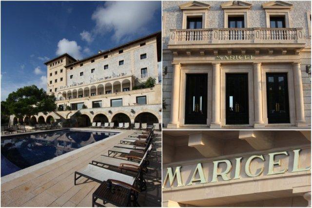 Palacete Maricel - Entrada Hotel Hospes Maricel en Mallorca