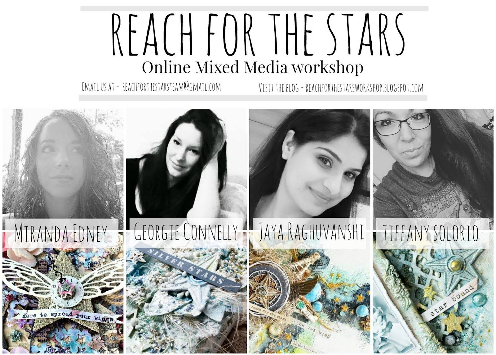 Our workshops at Reach For the Stars