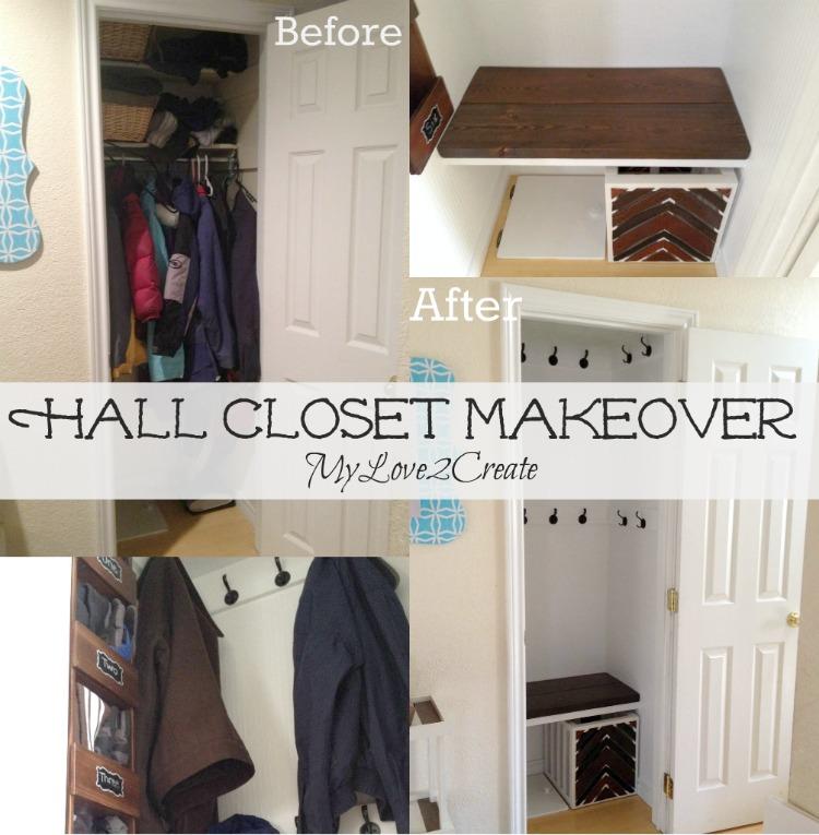 Hall Closet Makeover | My Love 2 Create