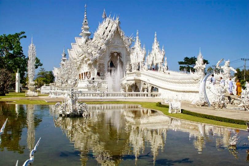 Il Tempio Bianco   Chiang Rai  (Thailandia)
