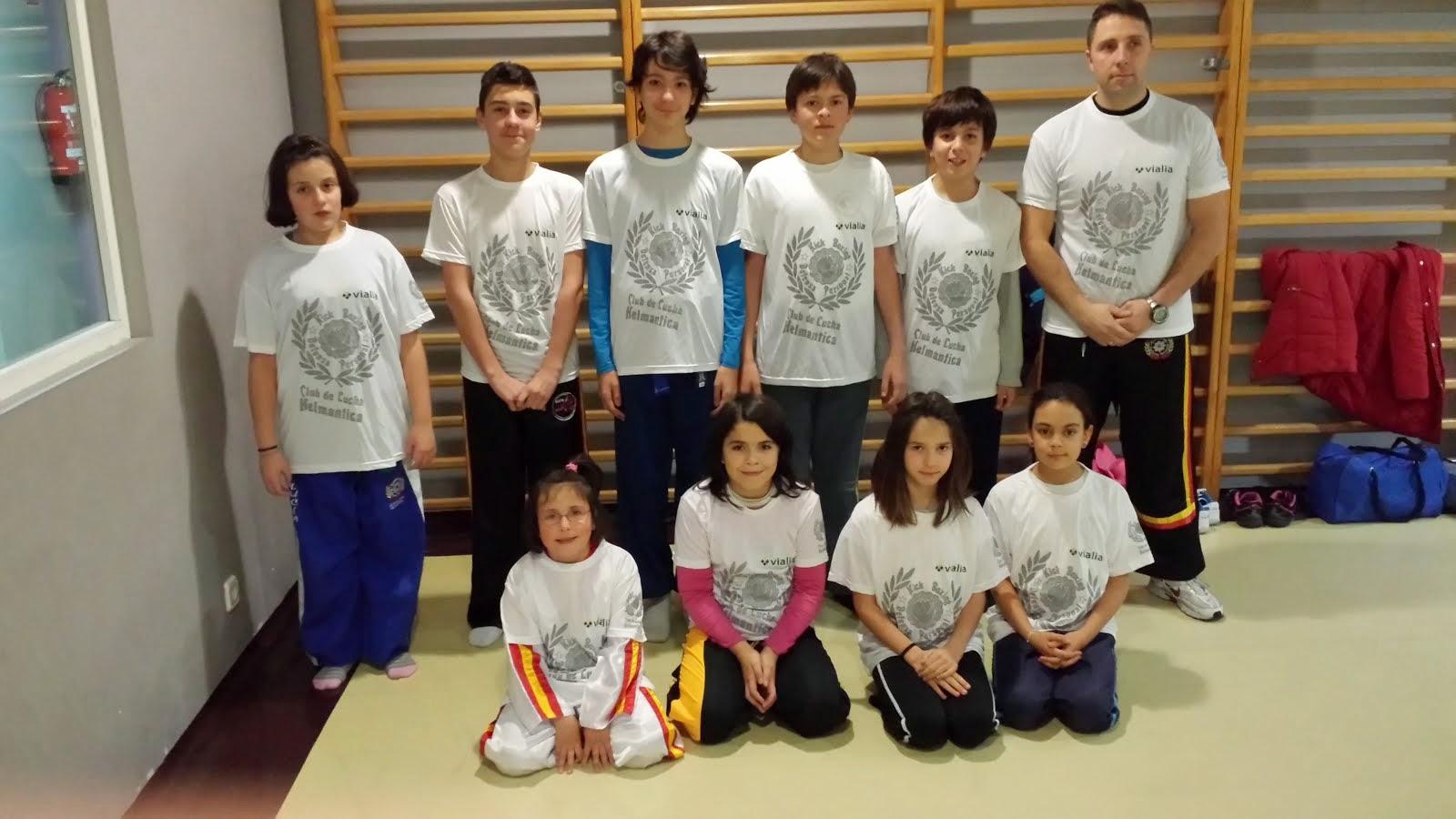Equipo competición junior 2014