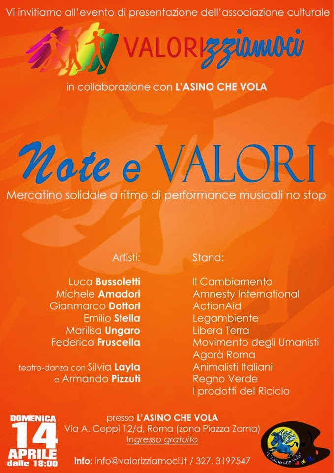 """Eventi - Serata """"Note e Valori"""