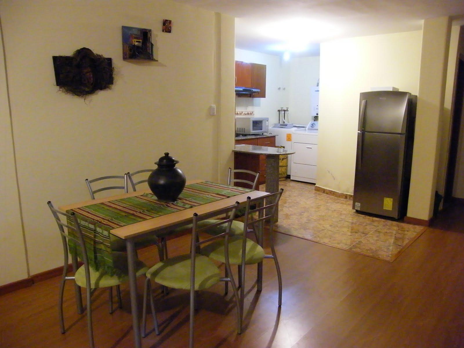 Porque Ecuador OLD Apartment Inside And Outside Views