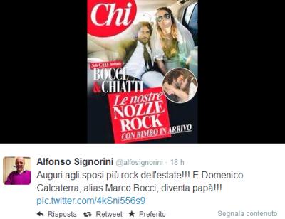 Marco Bocci e Laura Chiatti sposi