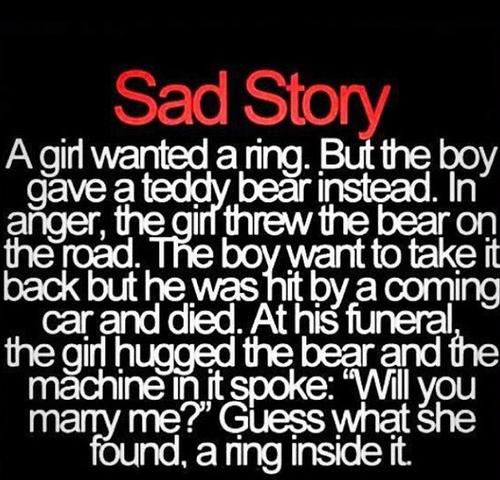 sad ending love story essay