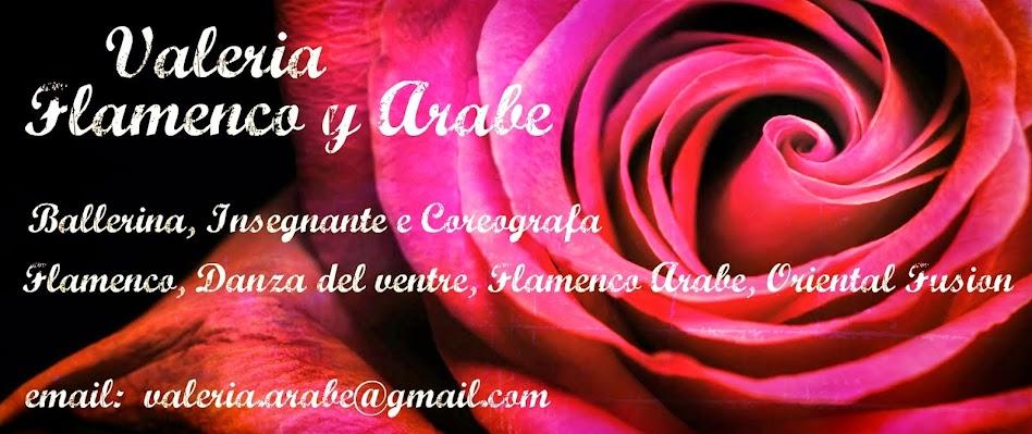 Valeria Flamenco y Arabe