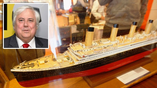 Picture of the Model for Titanic 2