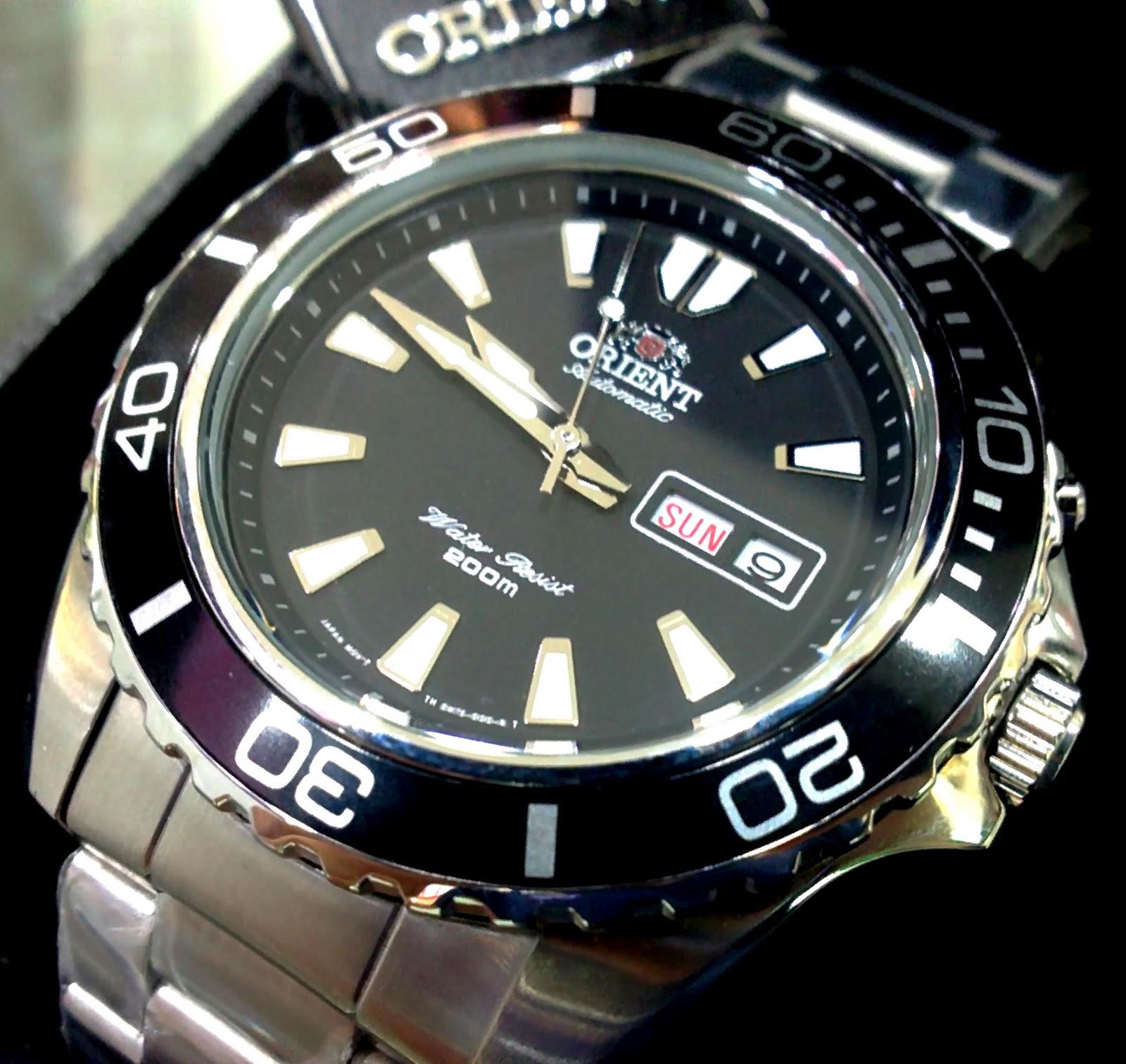 koleksijampecks: Jam Orient 45mm Rolex Submariner looks ...