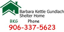 Barbara Kettle Gundlach Shelter Home