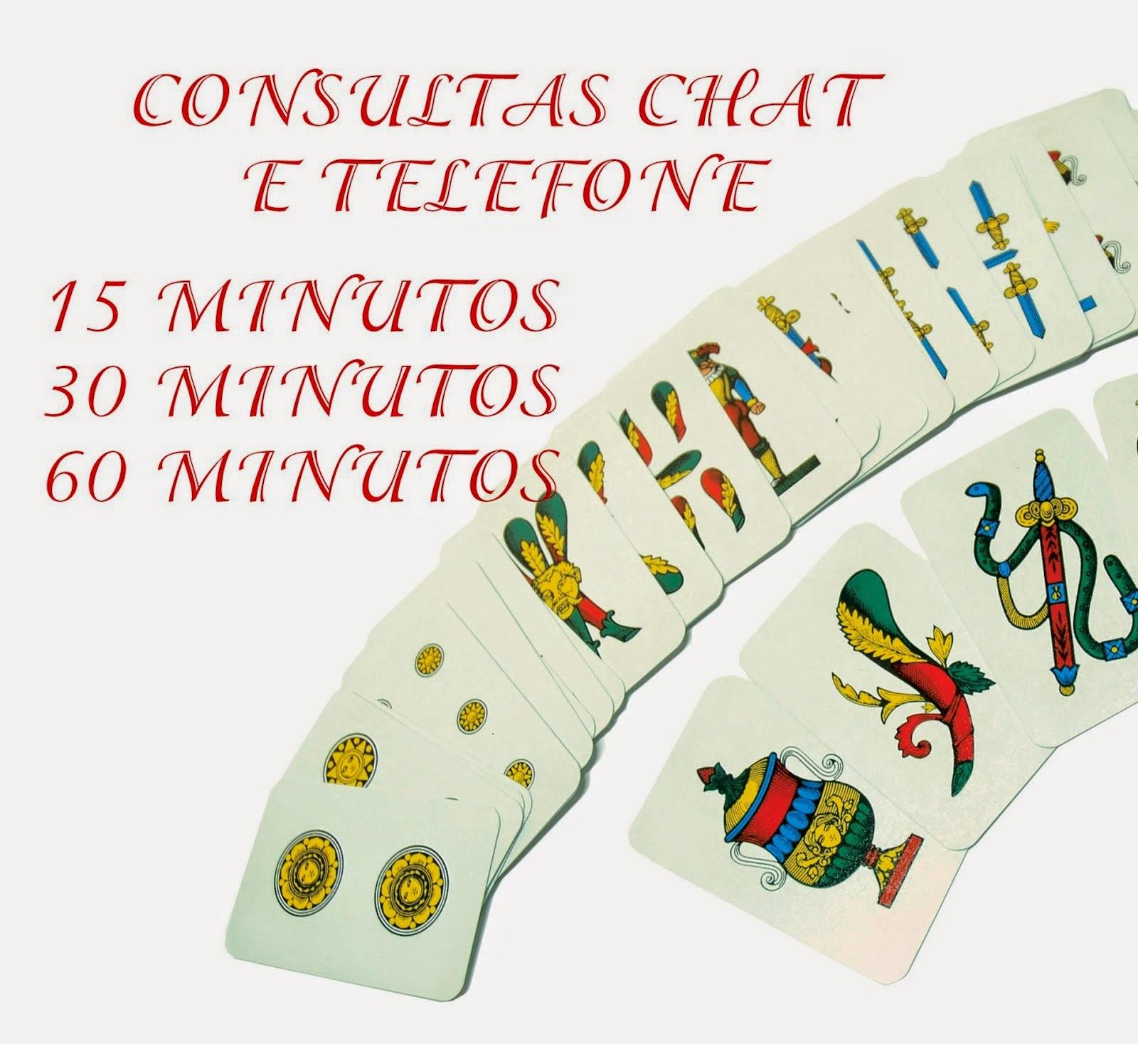 CHAT OU TELEFONE