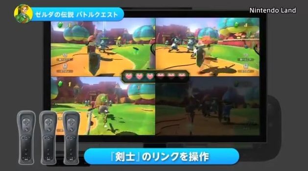 Zelda Battle Quest in Nintendo Land for Wii U