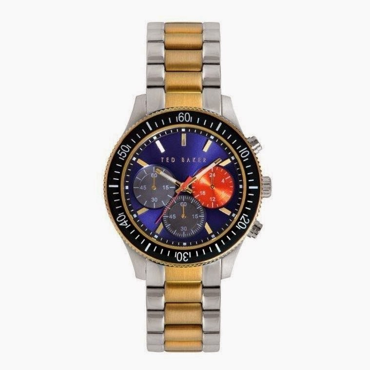 Ted Baker Men's TE3060 Two-Tone Multi-Dial Watch