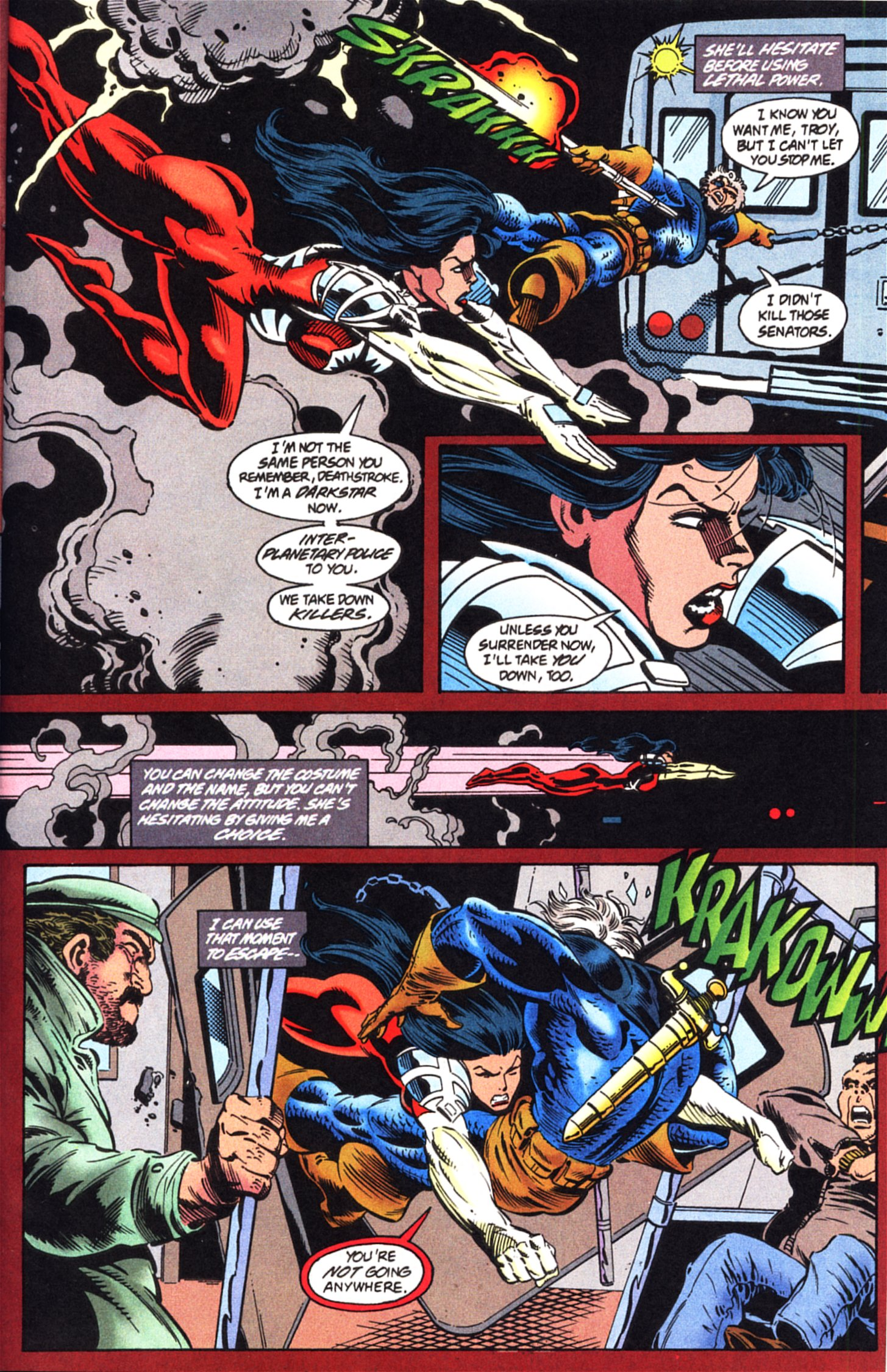 Deathstroke (1991) Issue #45 #50 - English 5