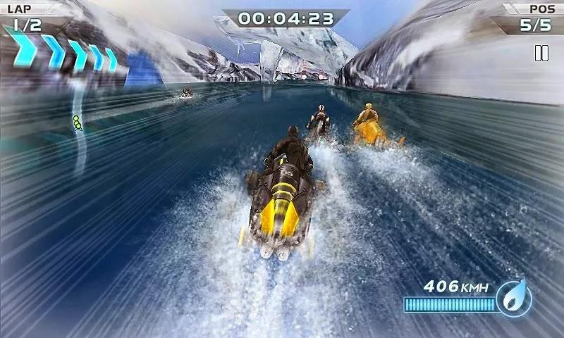 Android Motorlu Tekne Yarışı 3D Apk resimi 4