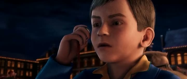 Screen Shot Of The Polar Express (2004) Dual Audio Movie 300MB small Size PC Movie