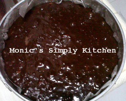 Resep adonan brownies siap dipanggang