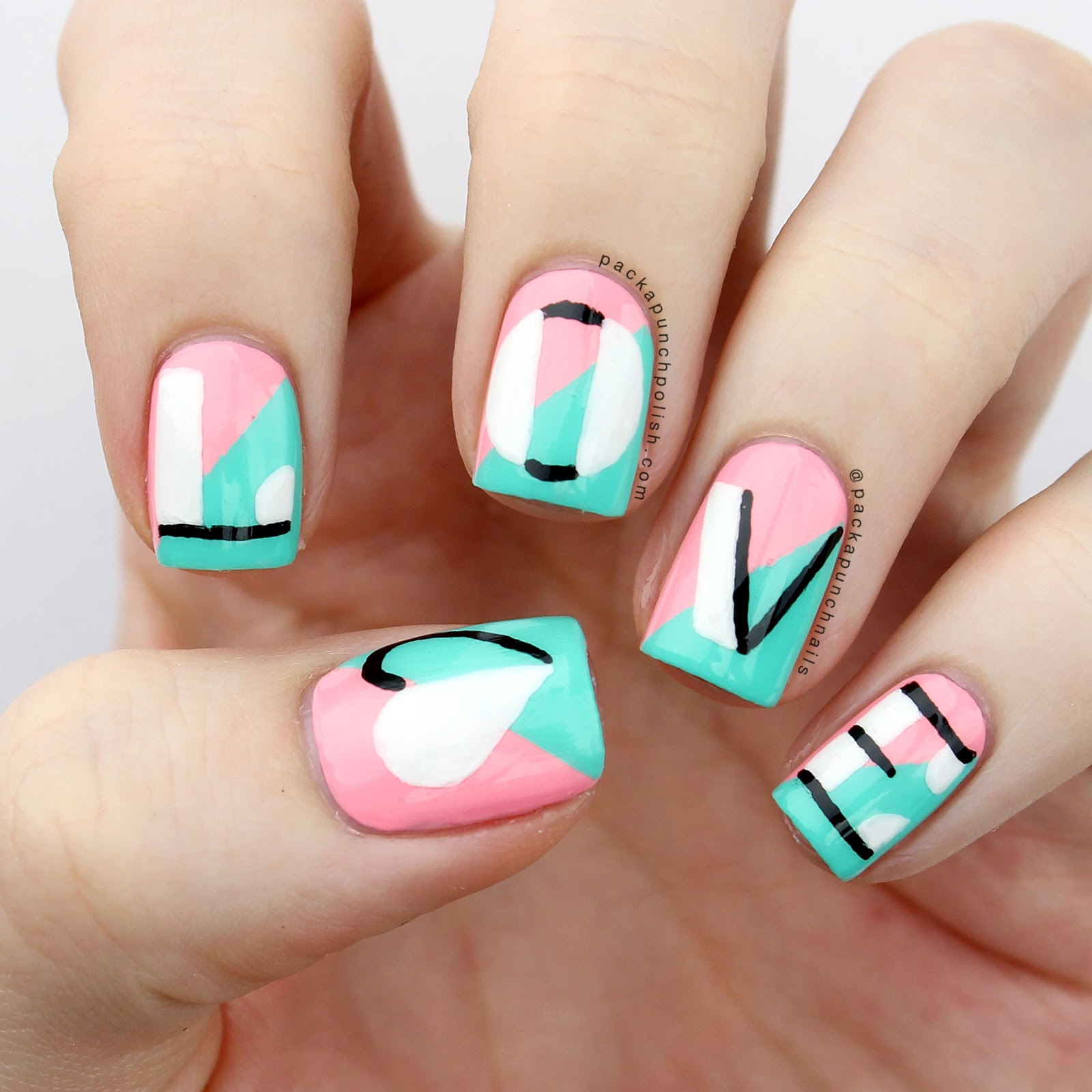 Letter Nail Art Best Nail Designs 2018