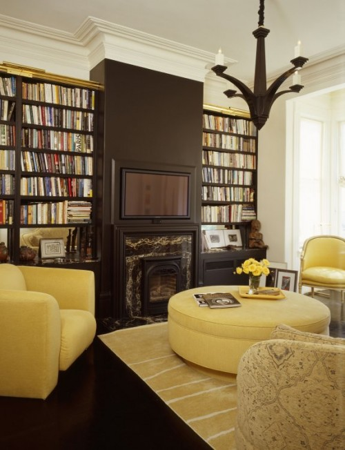 Library Room Design Ideas Part - 43: Simple Home Library Room
